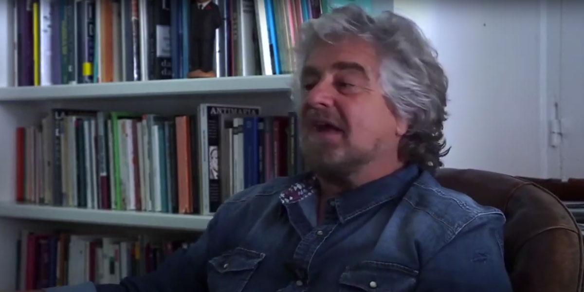 Beppe Grillo discorso di fine anno 2016